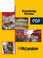 McLANAHAN - Agg - Dewatering Screen
