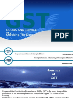 Gst on Services in India
