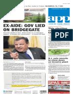 Asbury Park Press front page Thursday, Aug. 11 2016
