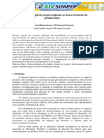 Gerenciamento Ágil de Projetos aplicado ao desenvolvimento de produto físico