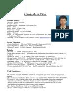 Cv & Apply Letter Hendra.s