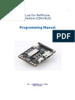 Lua on RePhone Manual