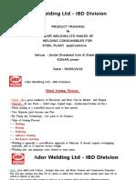 Ador Welding Ltd – IBD Division JINDAL SOHAR 1.pptx