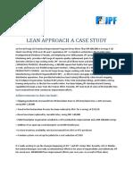 Case Study Lean