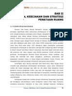 Bab 2 Tujuan, Kebijakan, Dan Strategi Penataan Ruang