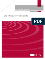 IAS 19 Employee Benefits June 2011