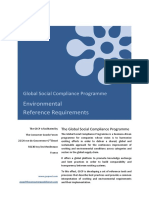 GSCP Environmental Reference Requirements