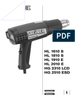 Steinel Heat Gun User Manual