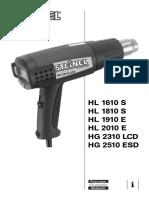 Steinel Heat Gun User Manual
