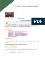 SOLID Architecture Principles Using Simple C