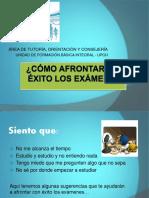 Cómo Prepararse Para Los Exámenes