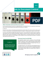 Help a Simple Guide to Document Control 2