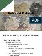 4.0 Unbound Materials