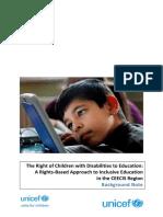 Inclusive Education UNICEF