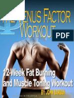 Venus Factor Workout