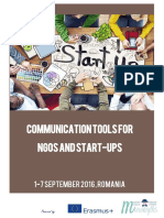 MONOMYTHS - Communication Tools for NGOs and Start-ups