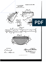 U.S. Patent 652,520, entitled Capotasto to inventor T.M. Pletcher, dated June 26, 1900.