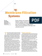 Membrane Filtration Systems