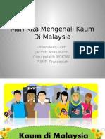 Kaum di Malaysia.pptx