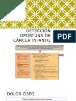 Detección oportuna de cáncer infantil