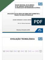 AVALIAÇÃO DE FIO CIRCULAR ESMALTADO SUBMETIDO A TENSÃO PULSADA RETANGULAR