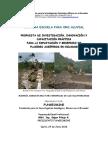Cantera Escuela Mineria Aluvial en Ecuador