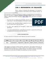 Criterios%2c Técnicas e Instrumentos de Evaluación