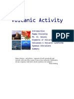 volcanic activity notes kean university