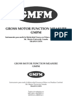 Escala Gross Motor Gmfm