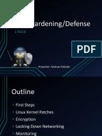 Laboratorio Server Hardening