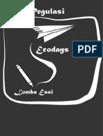Buku Regulasi Lomba Esai 2016