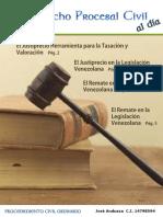 Justiprecio Derecho Procesal Civil