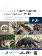 Reintroduction of Giant Anteaters in Global Reintroduction Perspectives 2016