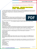 Current Affairs Questions & Answers PDF - June 2016 by AffairsCloud.pdf