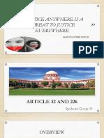 SG 08 - Artcile 32 & 226.pdf