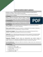 Procedimiento de Inspecciones Planeadas-Adeco