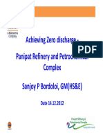 Achieving Zero Discharge Panipat Refinery and Petrochemical Complex-Indian Oil
