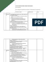 Planificaciones Lenguaje Multigrado Tia Yuri(Unidad 3)