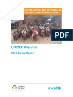 Myanmar Annual Report 2014
