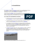 Les Causes Des Inondations