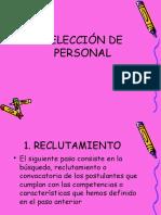 Orientar Al Personal Seleccion