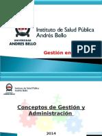 01. Concepto de Gestion y Administracion