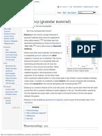 Dilatancy (Granular Material)