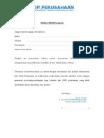 Surat PSURAT PERNYATAAN - LOKASI PERUSAHAANernyataan - Lokasi Perusahaan