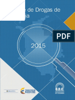Reporte de Drogas 2015 de Minjusticia