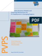 Innovative Business Models and Financing Mechanisms for PV Deployment in Emerging Regions