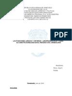 Las Posiciones Juradas y Criterios Jurisprudenciales