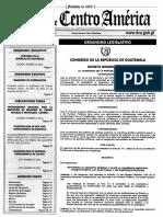 Decreto 26-2016