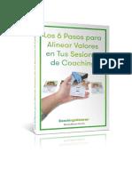 Los 6 Pasos Para Alinear Valores en Tus Sesiones de Coaching1