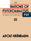 (Pittsburgh Series in Philosophy and History of Science) Freud, Sigmund_ Freud, Sigmund_ Freud Sigmund_ Gru_nbaum, Adolf-The Foundations of Psychoanalysis _ a Philosophical Critique-University of Calif